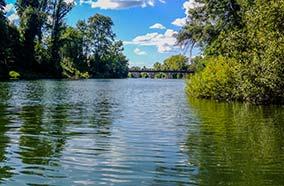 Camping avec activités en rivière en Dordogne