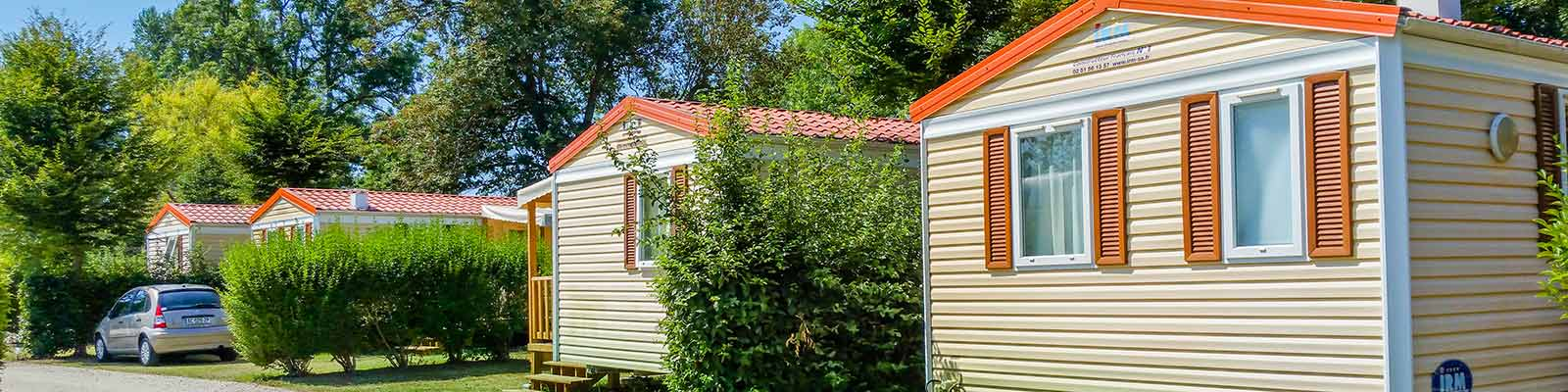 Camping avec mobil homes en Dordogne