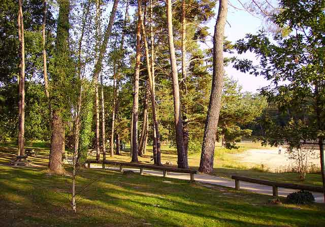 Mobil home forêt de la Double