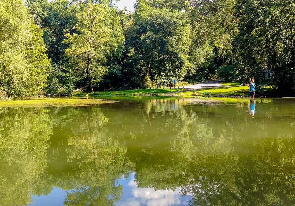 Pêcher en famille en Dordogne