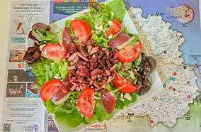 Salade Périgourdane en Dordogne