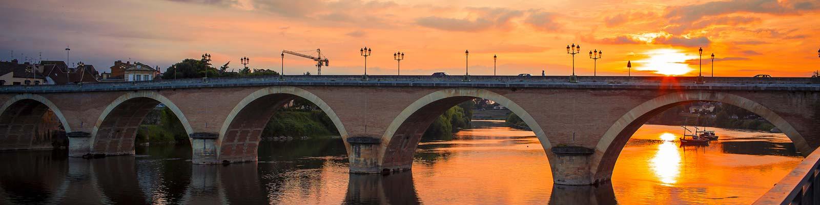 Ville de Bergerac en Dordogne