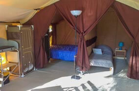location tente lodge camping dordogne