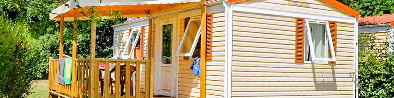 mobil-home 2 chambres location dordogne