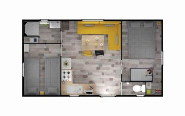 plan mobil-home neuf dordogne