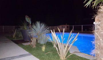 piscine nocturne perigord
